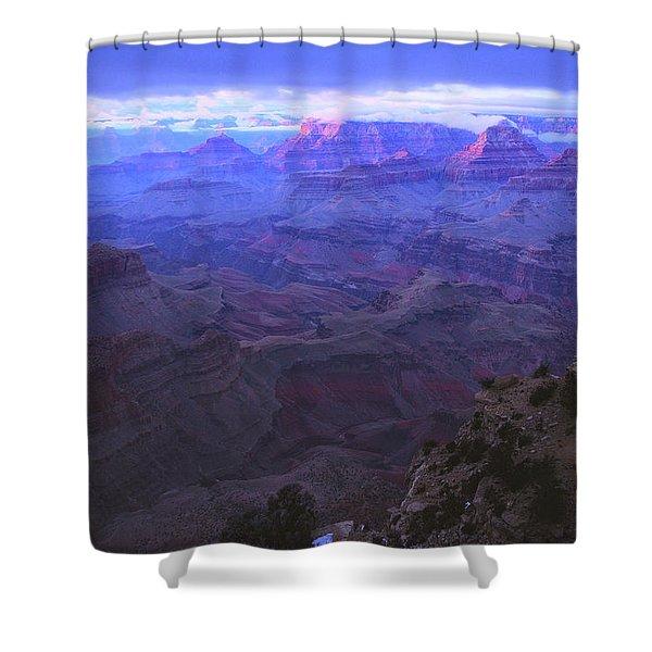 Grand Canyon Twilight Shower Curtain