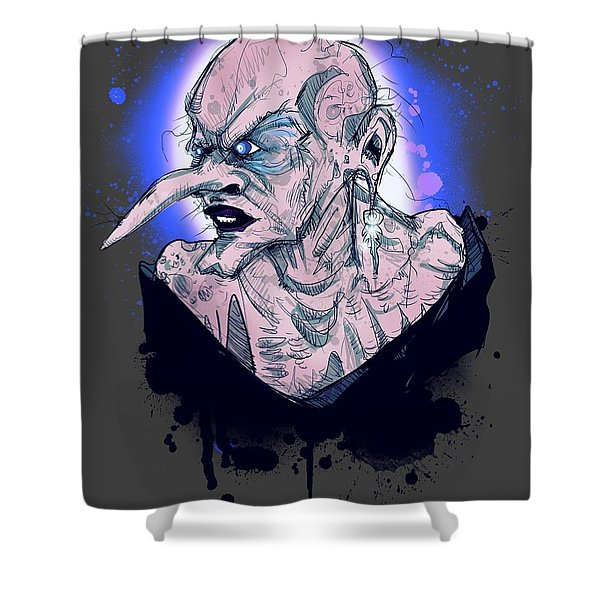 Grand High Witch Shower Curtain