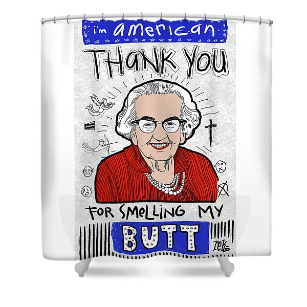 Gratitude Shower Curtain