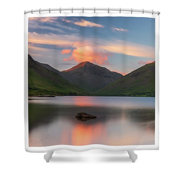Great Gable  Shower Curtain