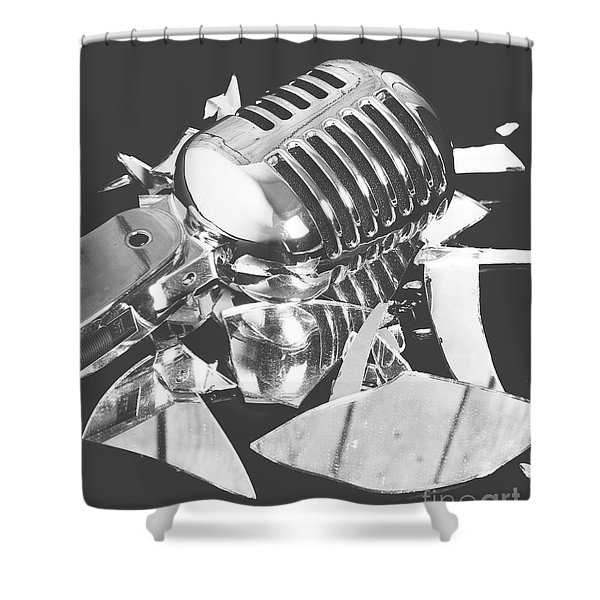 Greatest Hits Shower Curtain