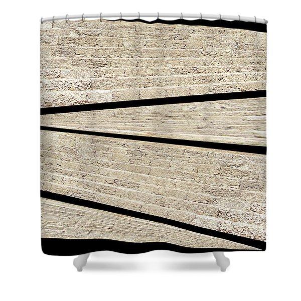 Greek Layers Shower Curtain