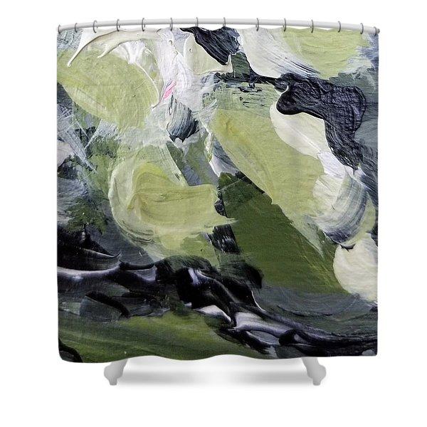 Green #1 Shower Curtain