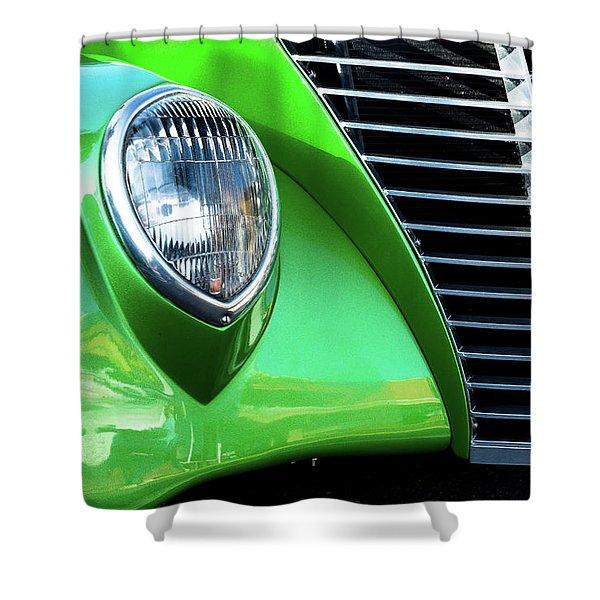 Green Machine Shower Curtain