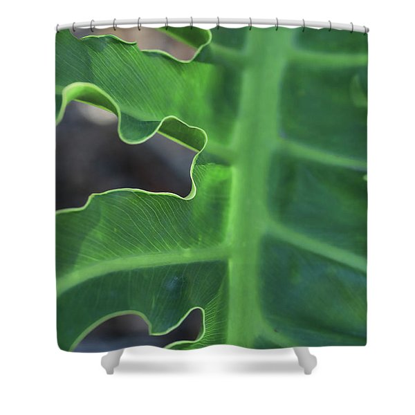 Green Space Shower Curtain