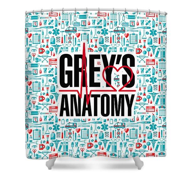 Greys Anatomy  Shower Curtain