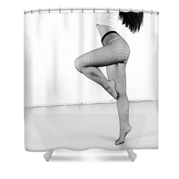 Grid #3736 Shower Curtain