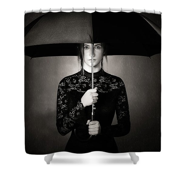 Grieving Shower Curtain