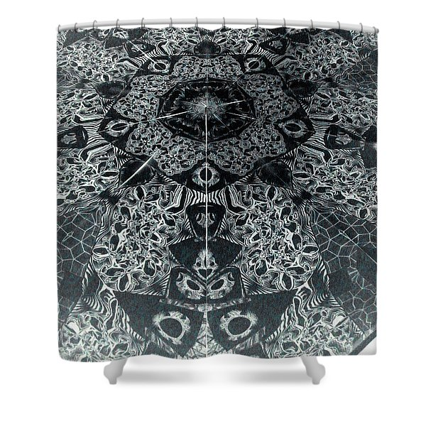 Grillo Inverse Shower Curtain