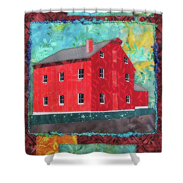 Grinnell Mill Shower Curtain
