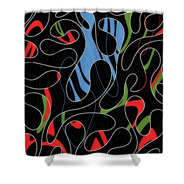 Ground Of The Sea, 2017 Shower Curtain