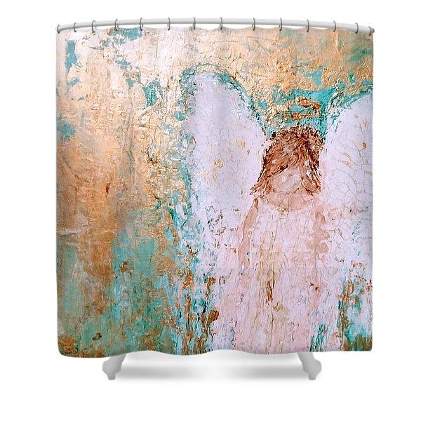 Guardian Angel Shower Curtain