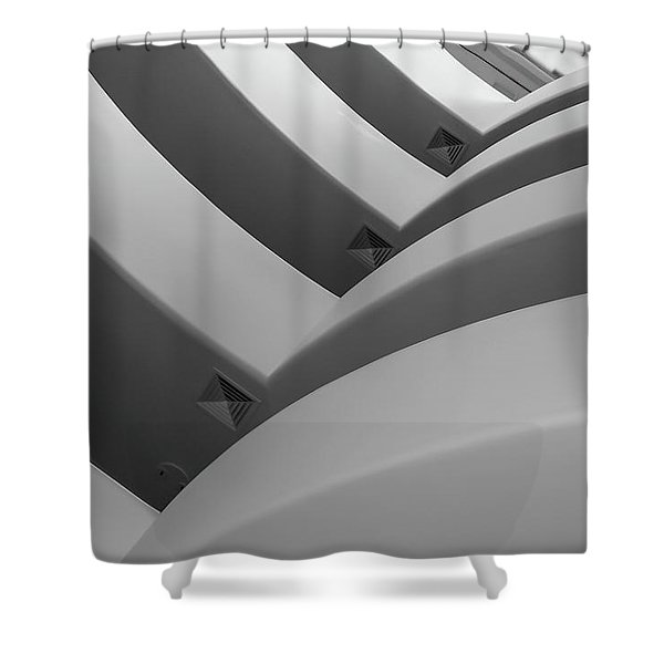 Guggenheim_museum Shower Curtain