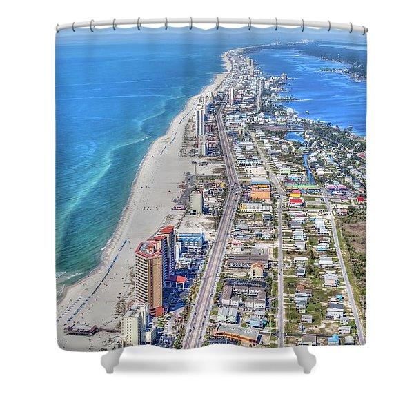 Gulf Shores 7124 Shower Curtain