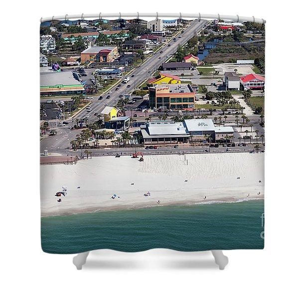 Gulf Shores Beach 7139 Shower Curtain