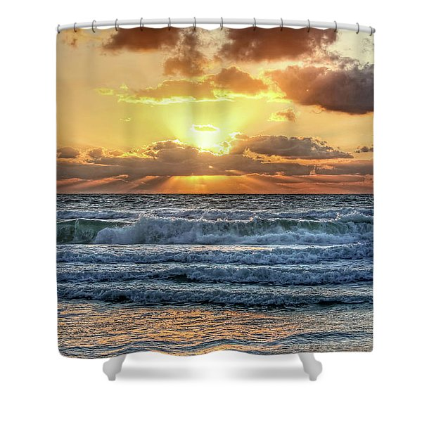 Gulf Waters Shower Curtain