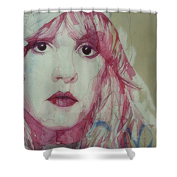 Gypsy - Stevie Nicks - Resize Shower Curtain