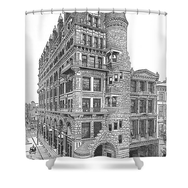 Hale Building Shower Curtain
