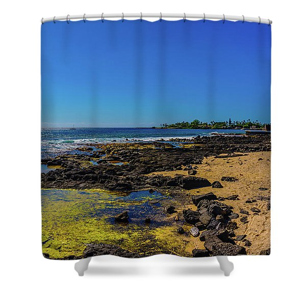 Hale Halawai Tide Pool Shower Curtain