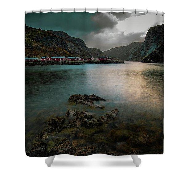 Hamnoy, Lofoten Islands Shower Curtain