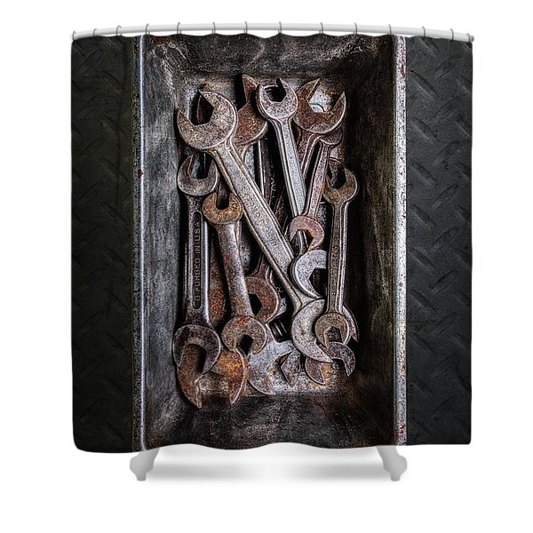 Hand Tools - Wrenches Shower Curtain