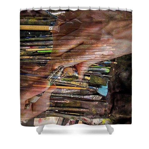 Handy Tools Shower Curtain
