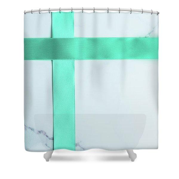 Happy Holidays IIi Shower Curtain