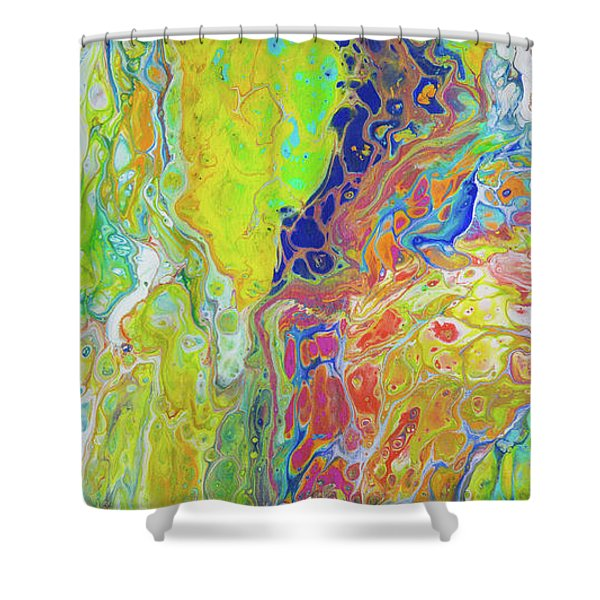 Happy In Hawaii Shower Curtain