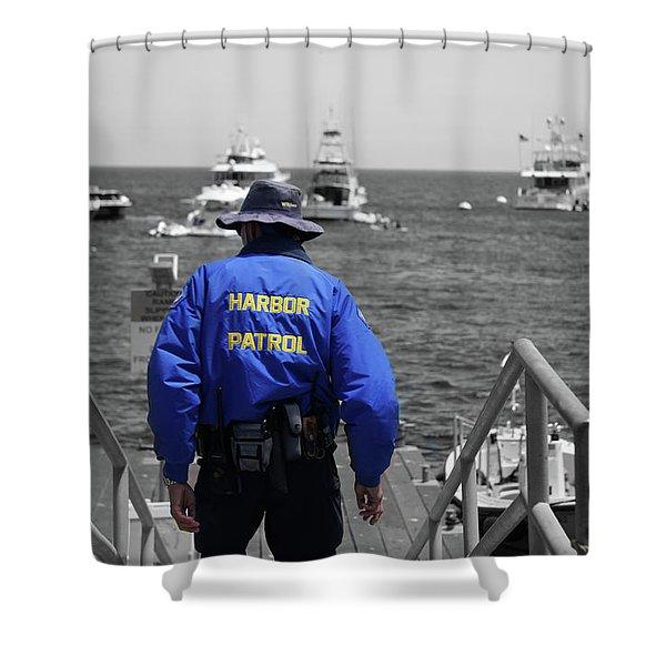 Harbor Patrol Shower Curtain
