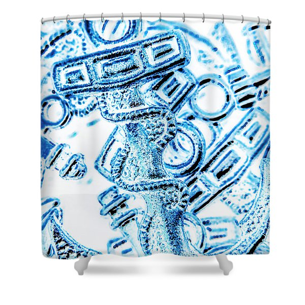 Harbour Hook Shower Curtain