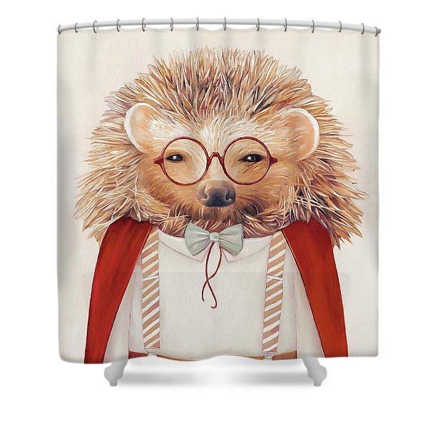 Harry Hedgehog Shower Curtain