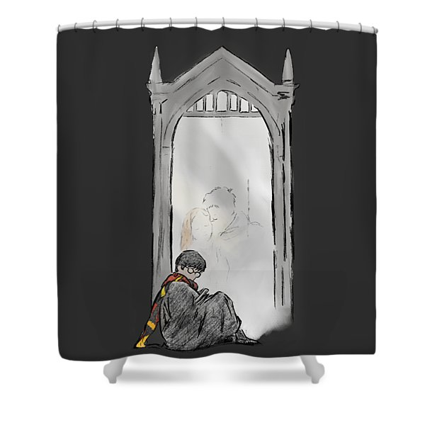 Harry Potter Mirror Shower Curtain