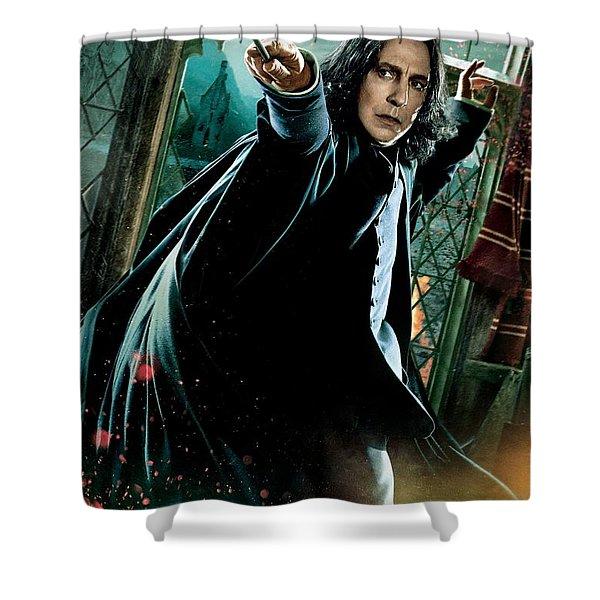 Harry Potter Severus Snape Shower Curtain
