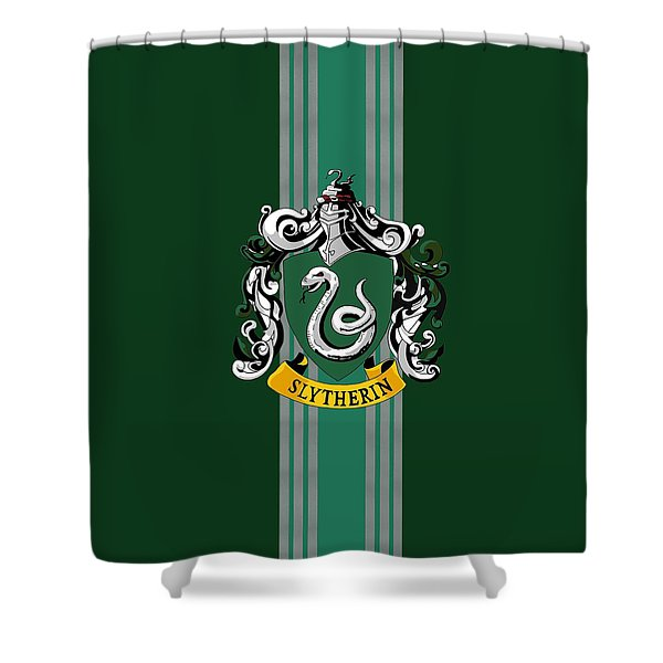 Harry Potter Sonserina Shower Curtain
