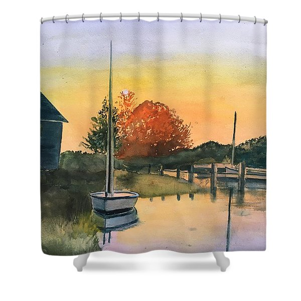 Harthaven Harbor, Mv Shower Curtain