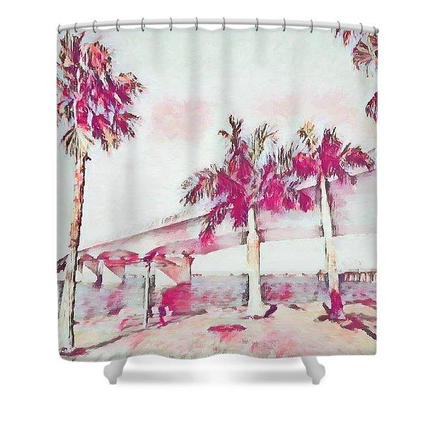 Harts Landing Sarasota Shower Curtain