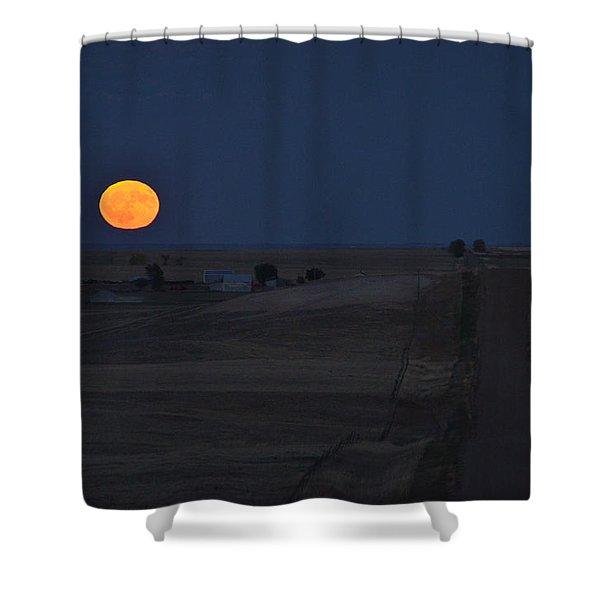 Harvest Moon 2 Shower Curtain