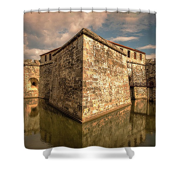 Havana Fortress Shower Curtain