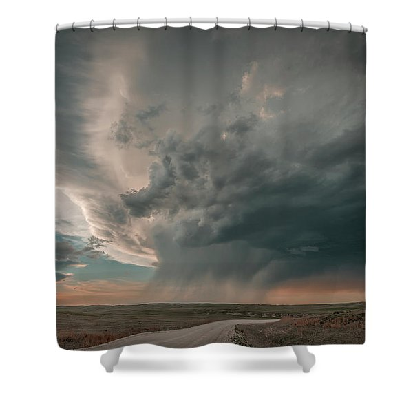 Hay Springs Ne Supercell Shower Curtain