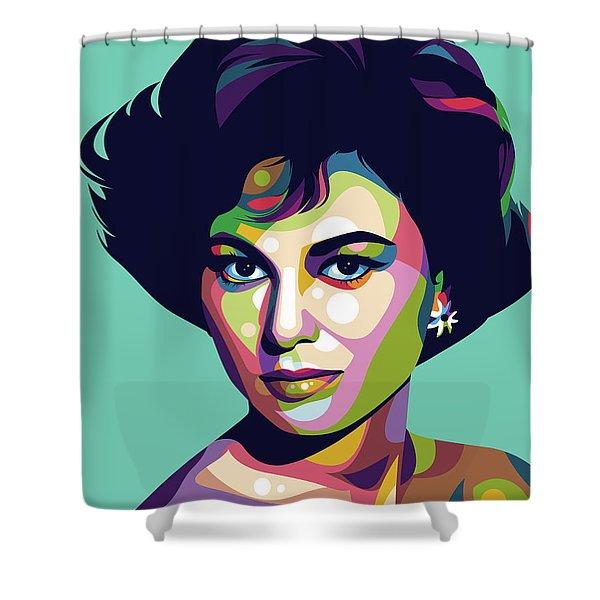Haya Harareet Shower Curtain