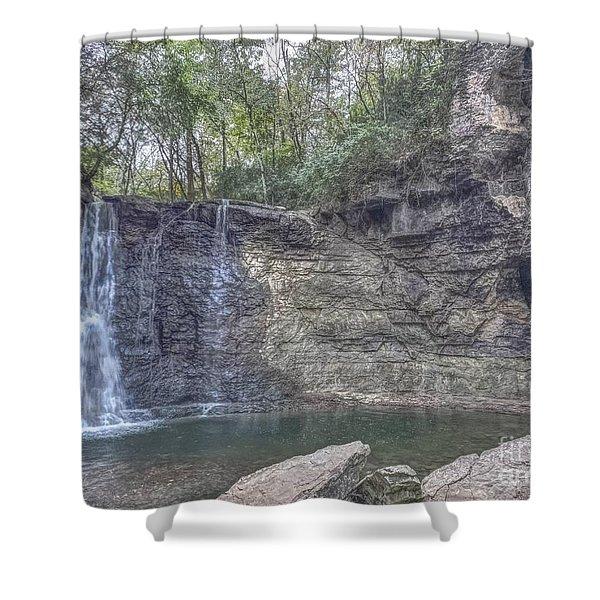 Hayden Falls Shower Curtain