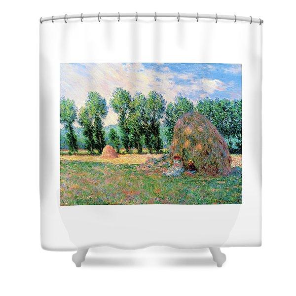 Haystacks - Digital Remastered Edition Shower Curtain