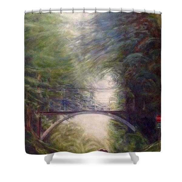 Heading East Shower Curtain