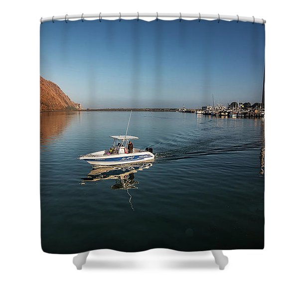 Heading Out Early Shower Curtain