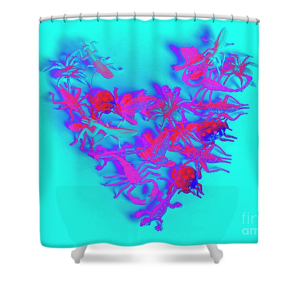 Heart Of The Wild Shower Curtain
