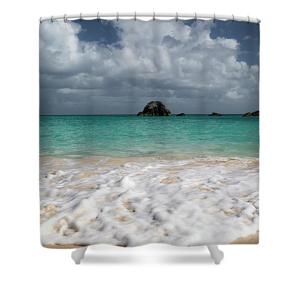 Heavenly Day Get Away Bermuda Shower Curtain
