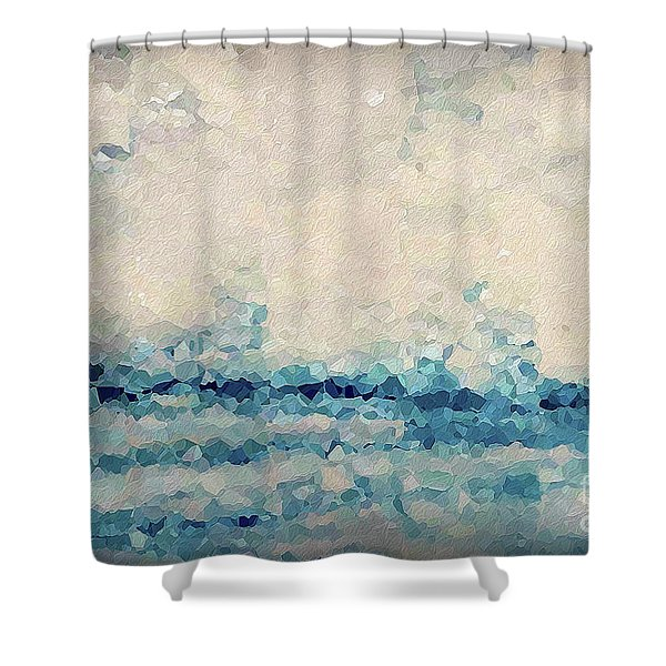 Hebrews 4 16. Come Boldly Shower Curtain