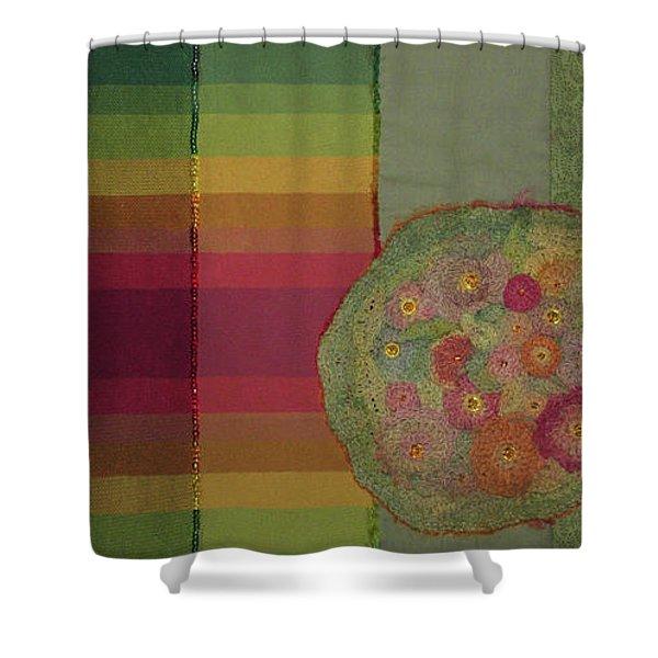 Heirloom Bouquet Shower Curtain