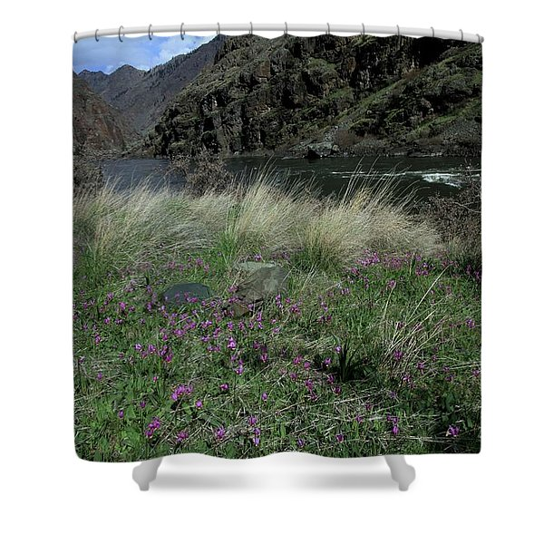 Hells Canyon National Recreation Area Shower Curtain