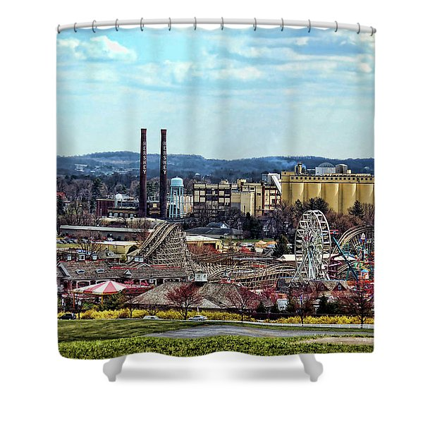 Hershey Pa 2006 Shower Curtain